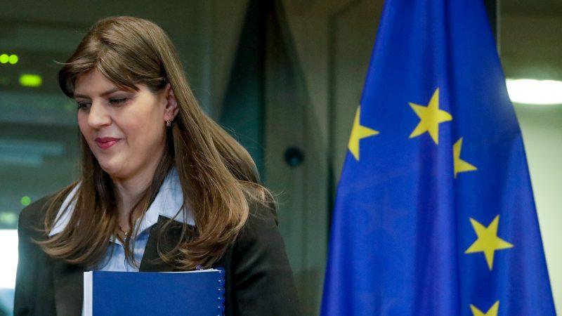 Laura Kövesi Cheffe parquet européen