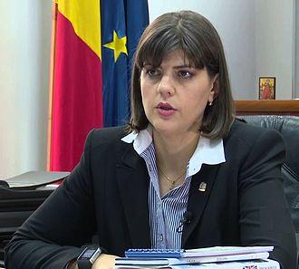 Laura Kövesi cheffe bureau central